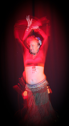Belly Dancer, Jo Sharp