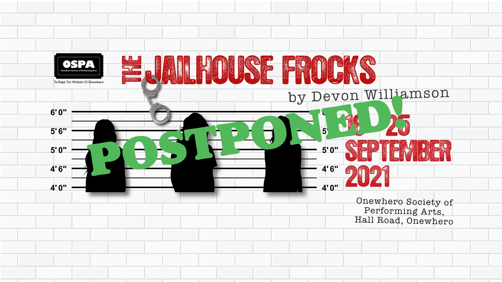 **POSTPONED** The Jailhouse Frocks